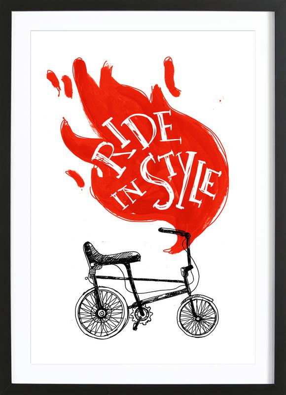 Ride Framed Print