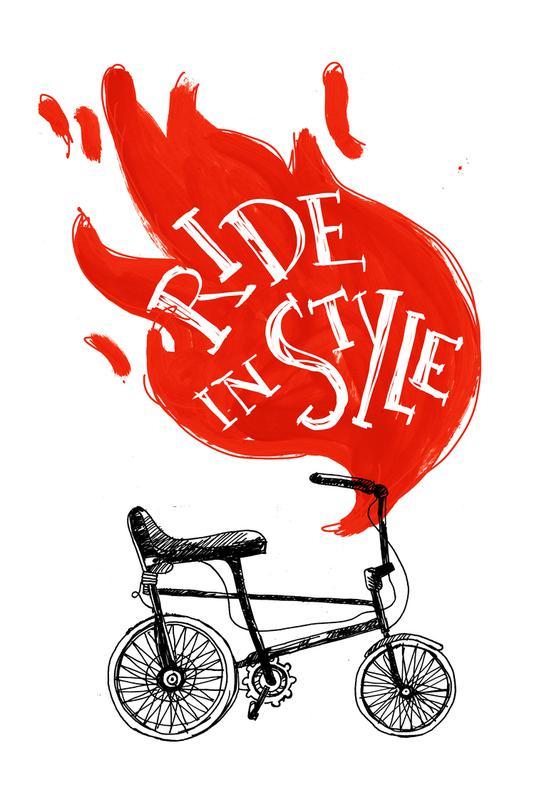 Ride Acrylic Print