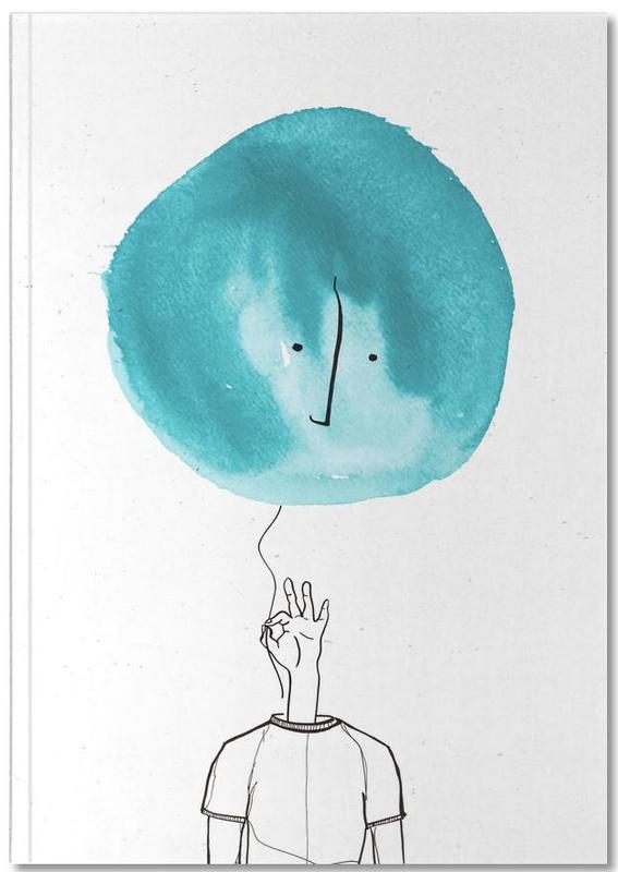 Humour, Balloon Head Notebook