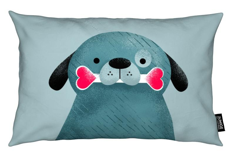Chiens, Saint-Valentin, Can These Eyes Lie coussin