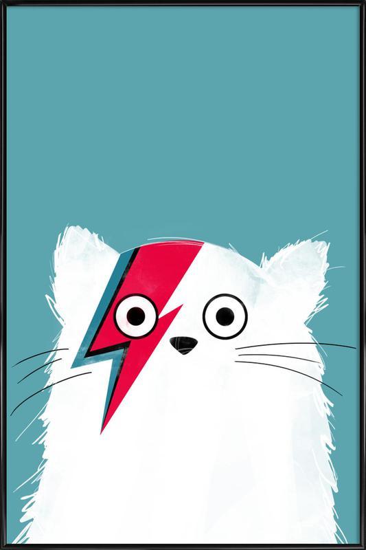 Cat - Hero 3 affiche encadrée