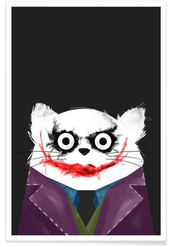 Cat - Joker -Poster