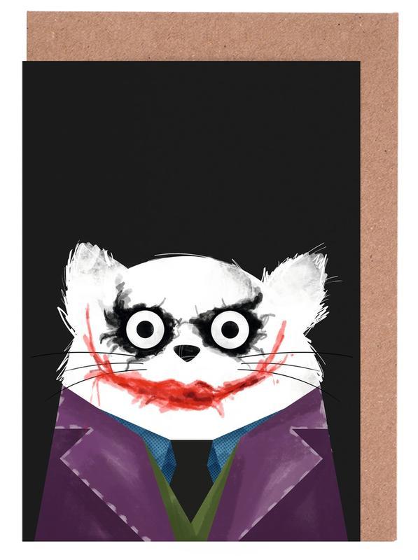 Films, Chats, Le Joker, Cat - Joker cartes de vœux