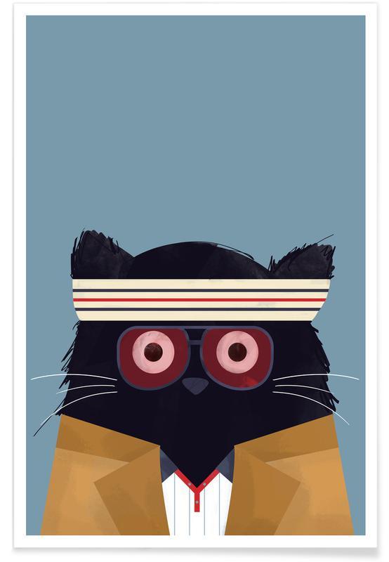 Cats, Movies, Cat - Tenenbaum Poster