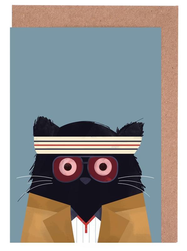 Films, Chats, Cat - Tenenbaum cartes de vœux