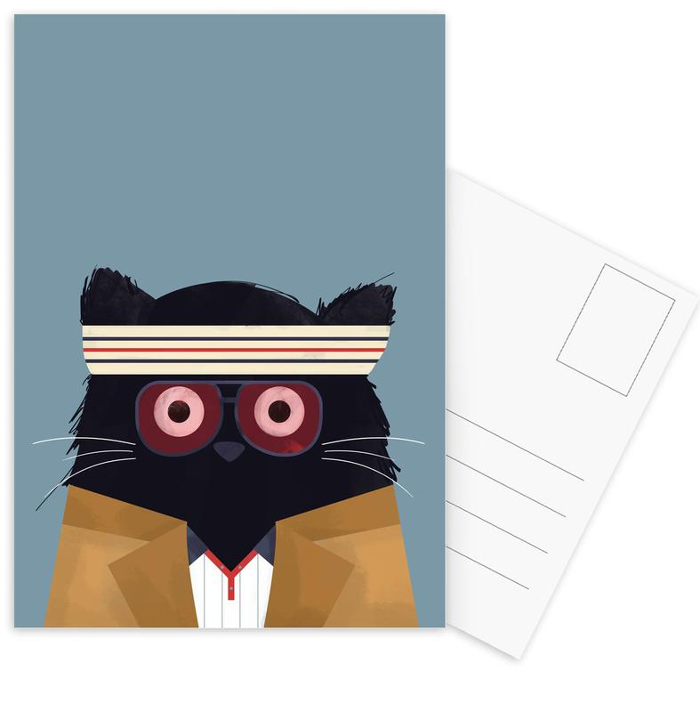 Films, Katten, Cat - Tenenbaum ansichtkaartenset