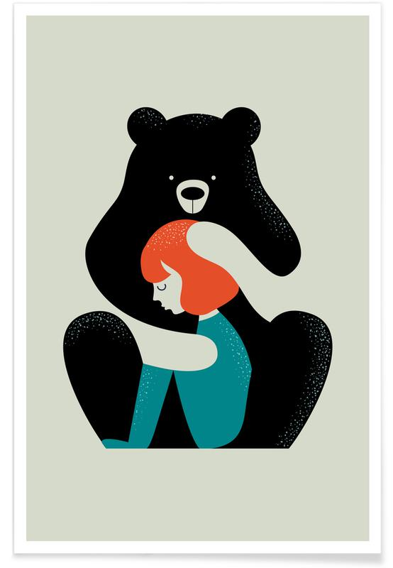 Ours, Bearhug affiche