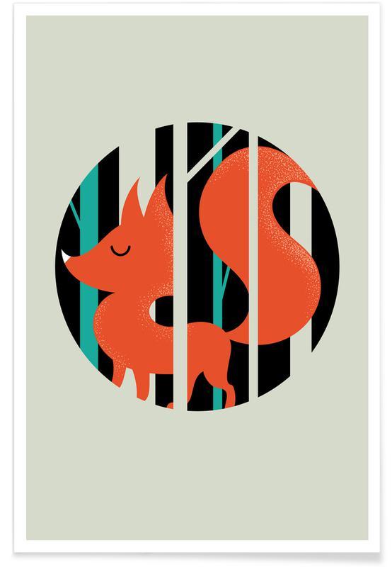 Füchse, Fox -Poster