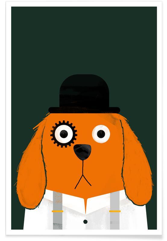 Dogs, Dog Clockwork Poster