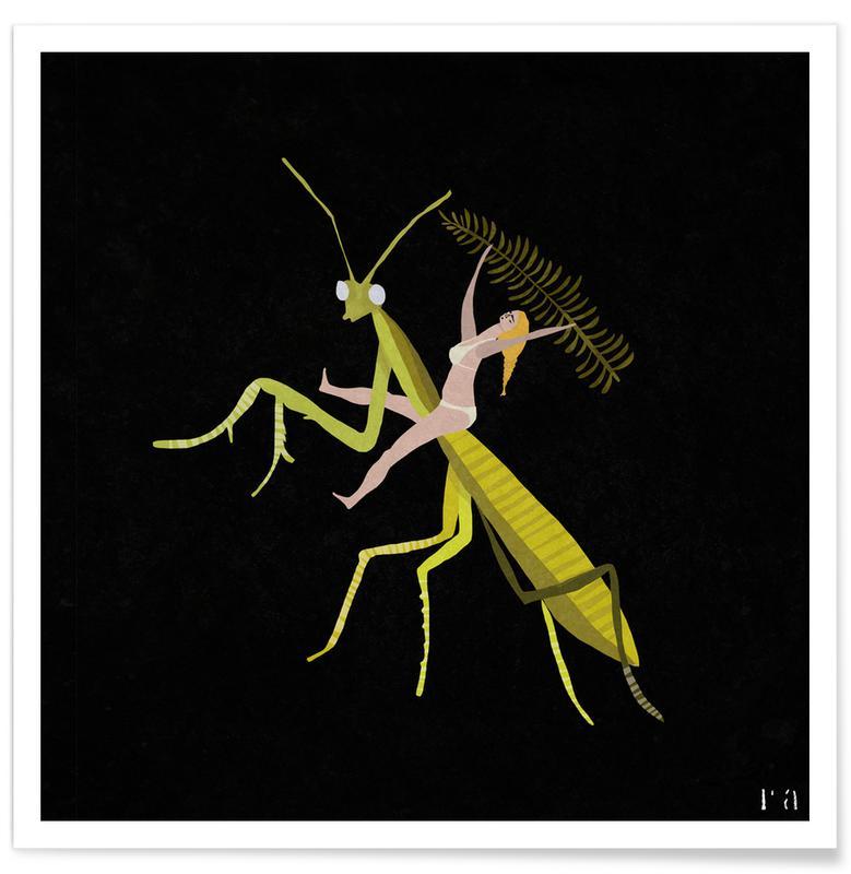 Græshopper, Hopper Plakat