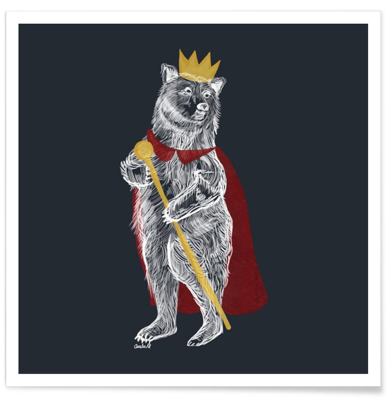 Ours, King Bear affiche