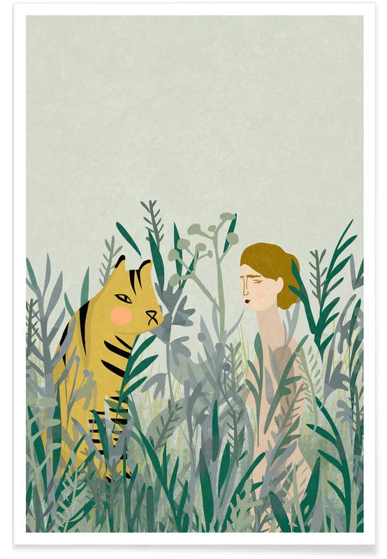 Look for Your Tiger Poster