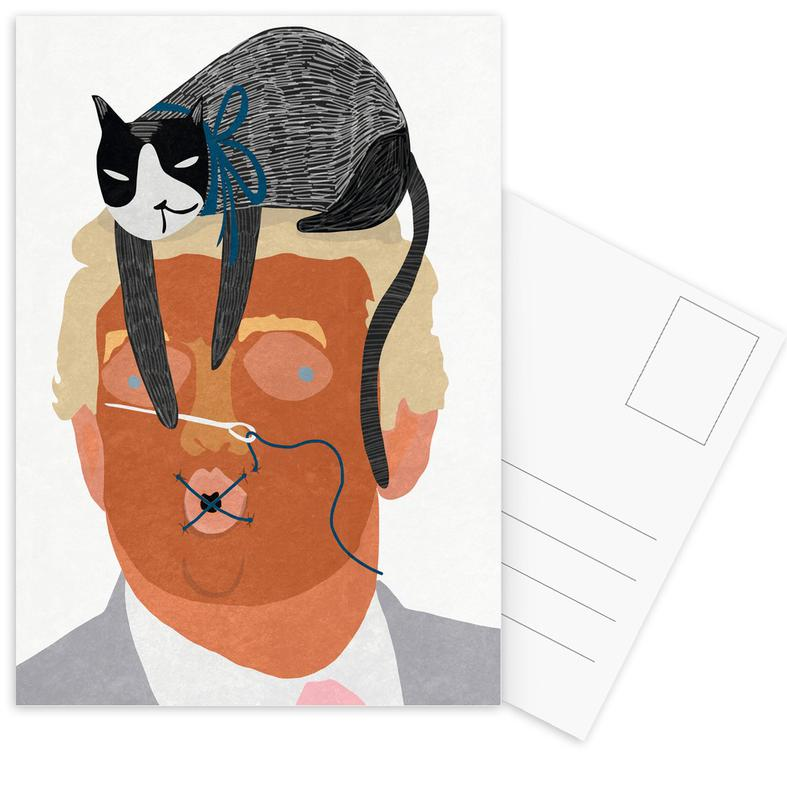 Personnages politiques, Speak No Evil cartes postales