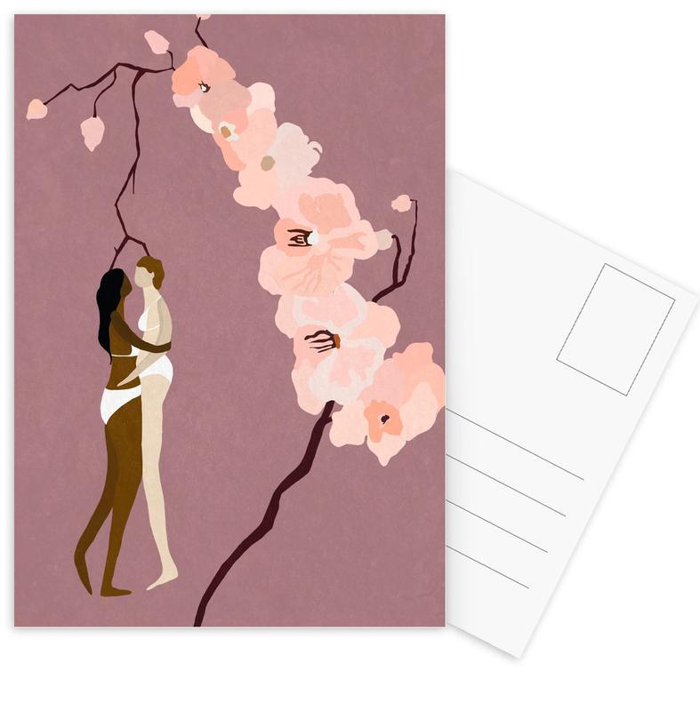 Loving Ladies Postcard Set