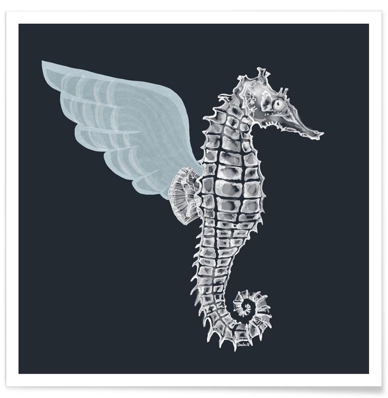 Créatures et hybrides, Hippocampes, Pegasus affiche