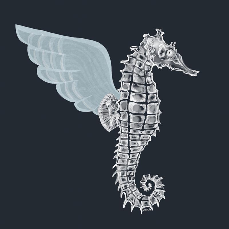 Pegasus canvas doek