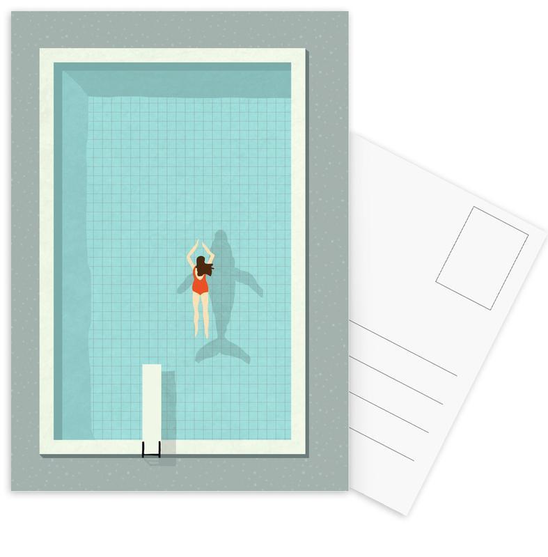 Natation, Pool cartes postales