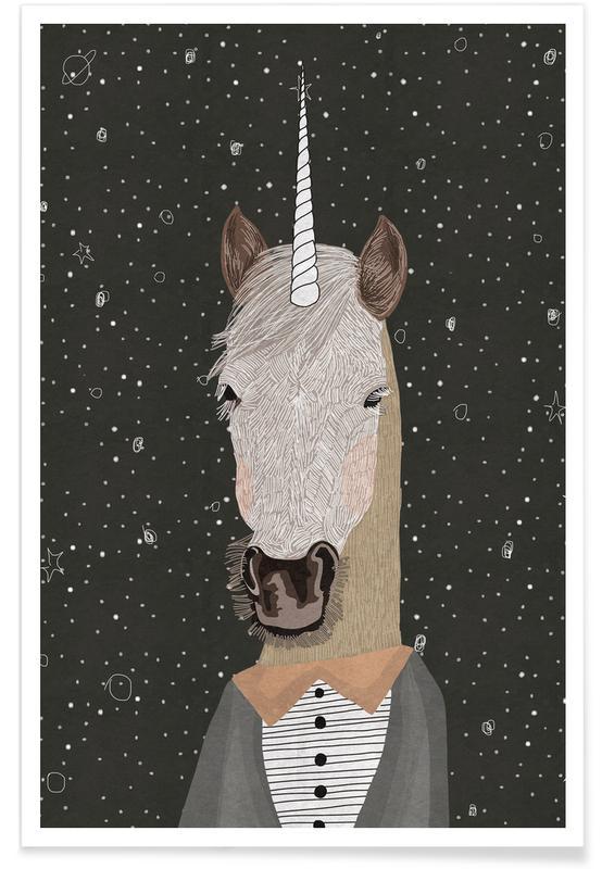Licornes, Unicorn affiche