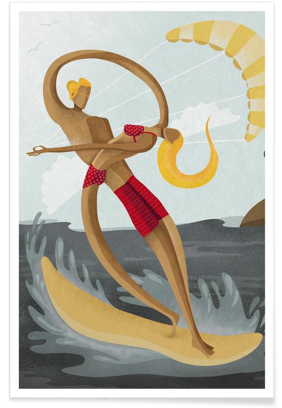 Surfen, Surf Love -Poster