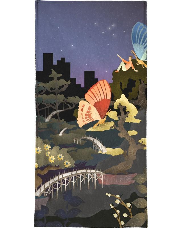 Traumwelt, Bonsais and Butterflies -Handtuch