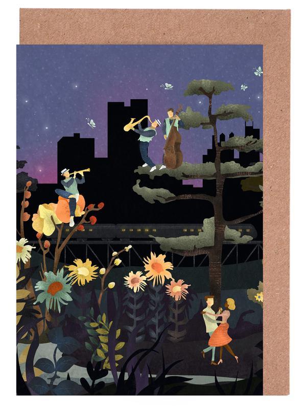 Music Under the Stars Greeting Card Set