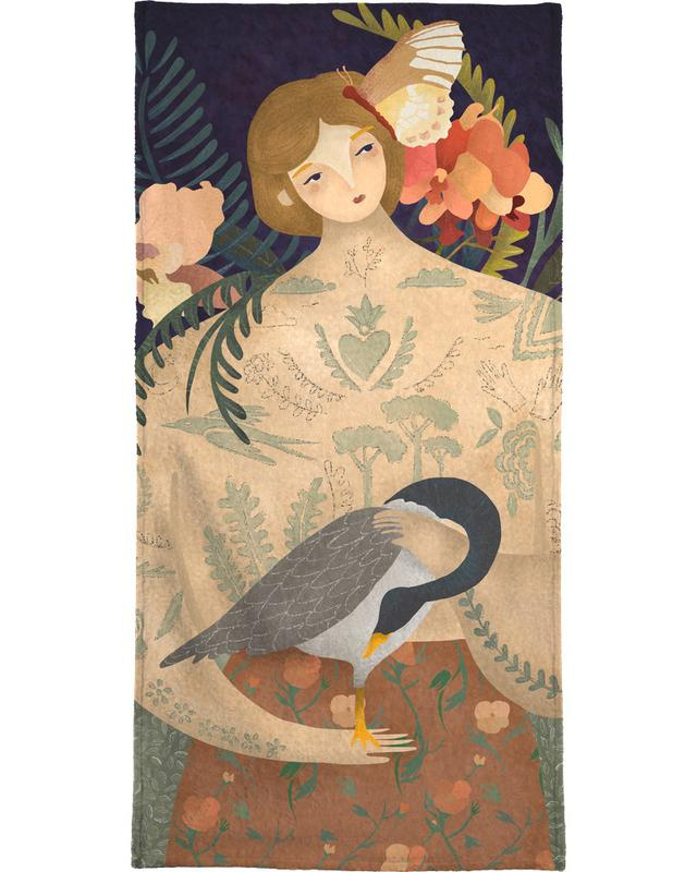 Wild Geese Lady -Handtuch