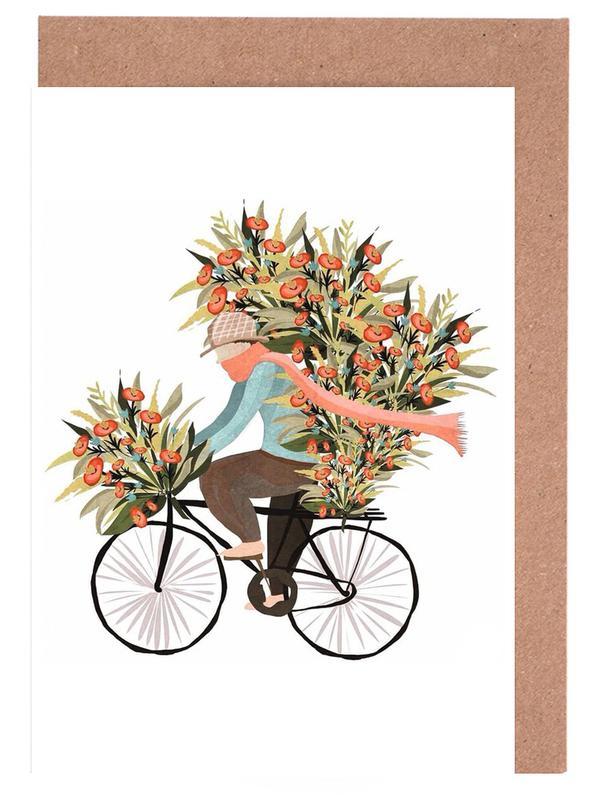 Bicycle Greeting Card Set