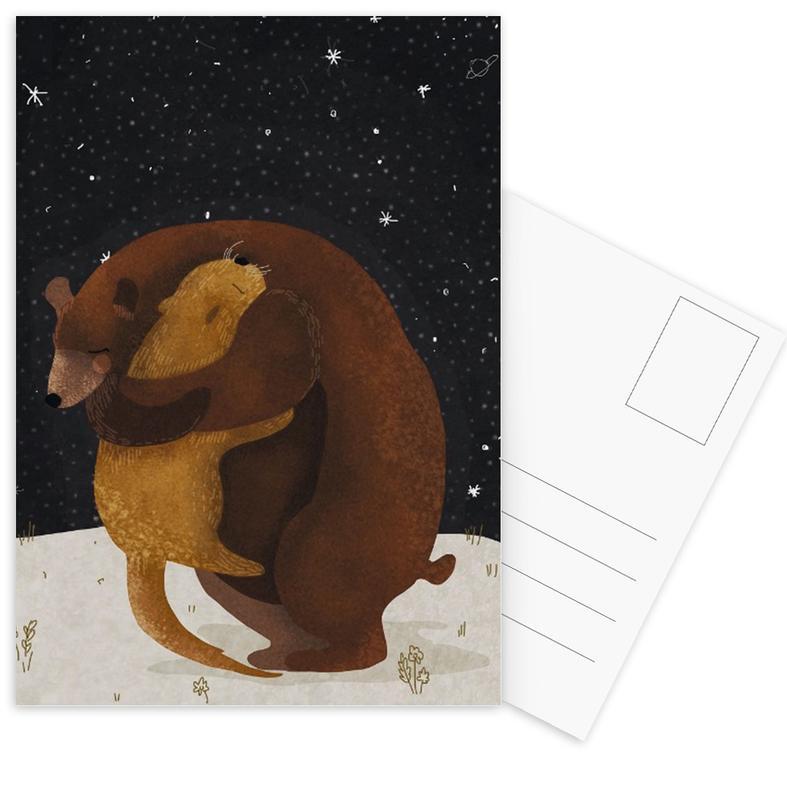 Ours, Félicitations, Hug cartes postales