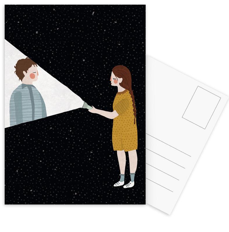 Couples, Weddings, Anniversaries & Love, I Found You Postcard Set