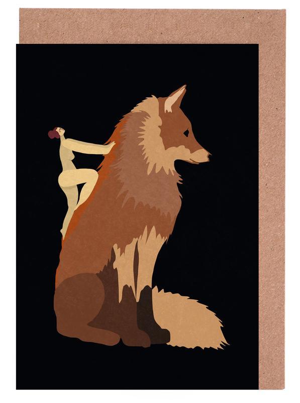 Fox cartes de vœux