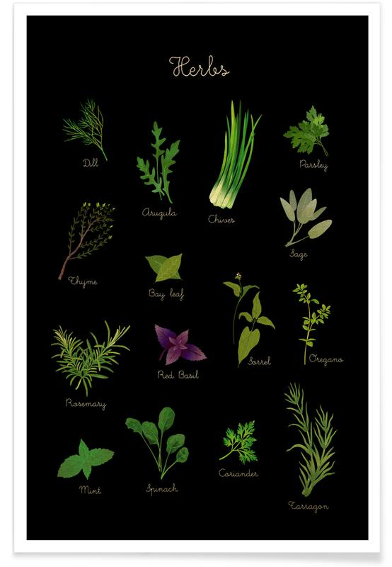 , Herbs Poster
