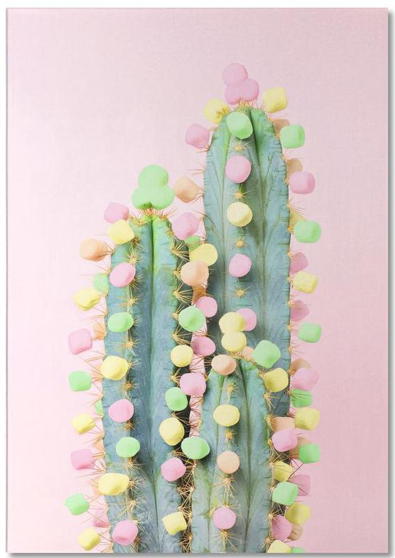 Marshmallow Cactus in Bloom Notepad