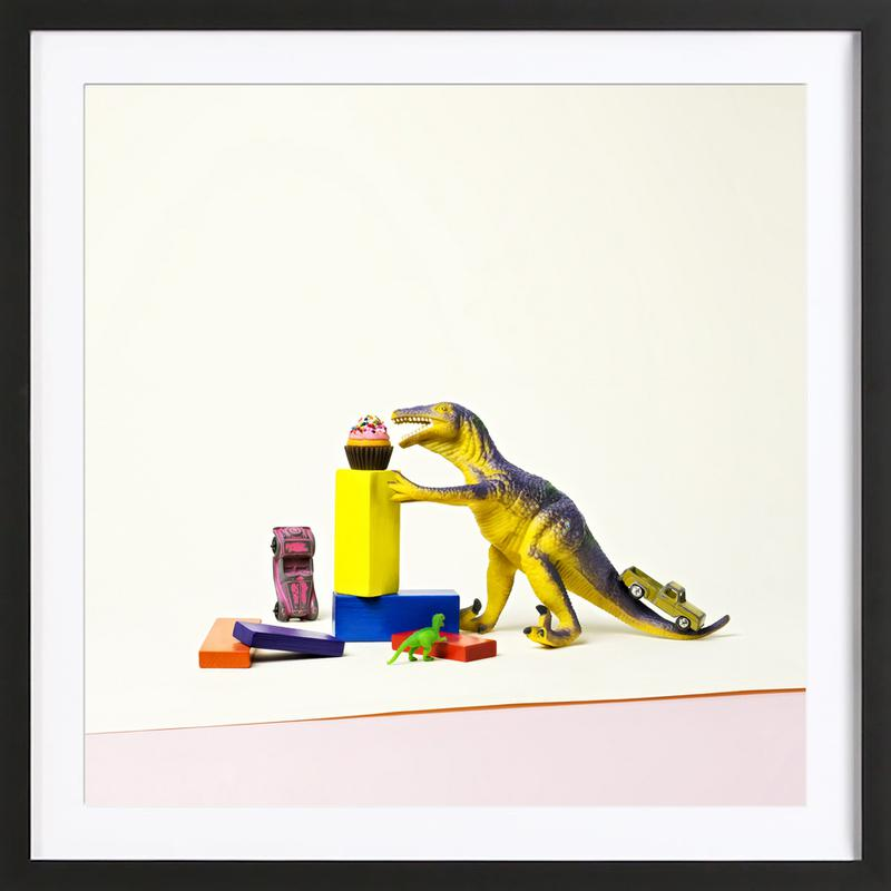 I've Come for Your Cupcakes Framed Print