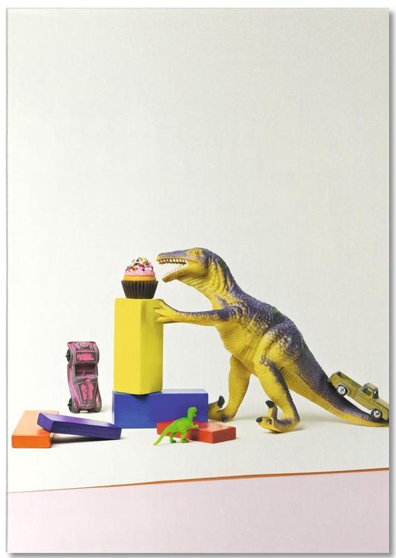 Dinosaurussen, Kunst voor kinderen, I've Come for Your Cupcakes notitieblok