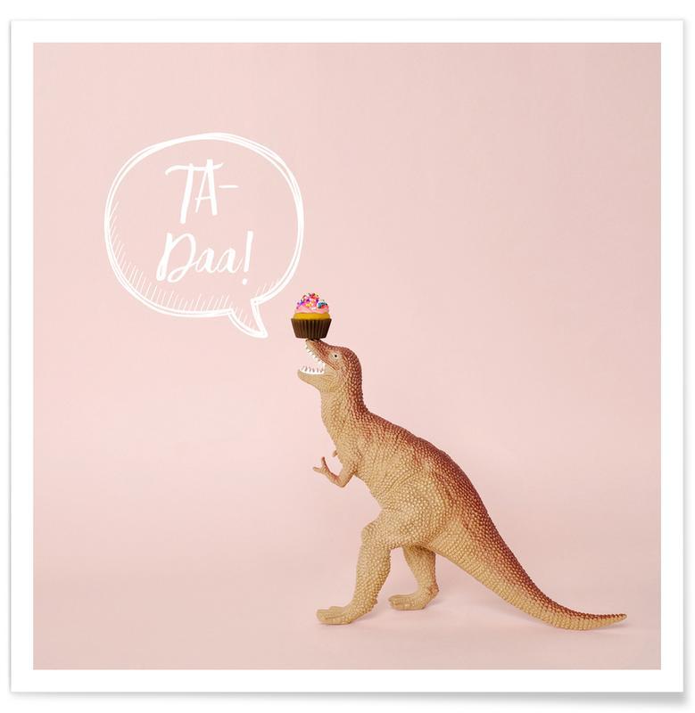 Dinosaurussen, Kunst voor kinderen, Verjaardagen, Ta-Daa! poster