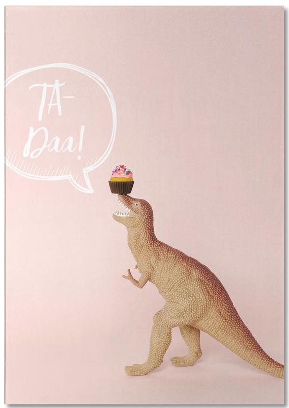 Kunst voor kinderen, Dinosaurussen, Verjaardagen, Ta-Daa! notitieblok