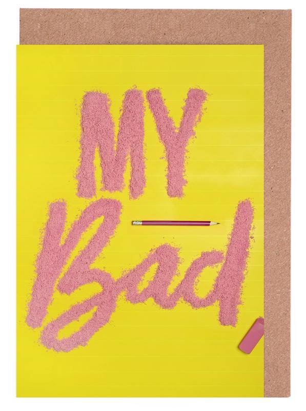 Excuses, Citations et slogans, Eraser Day cartes de vœux