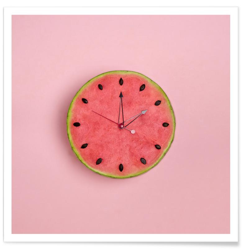 Vandmeloner, Fødselsdage, Watermelon Time Plakat
