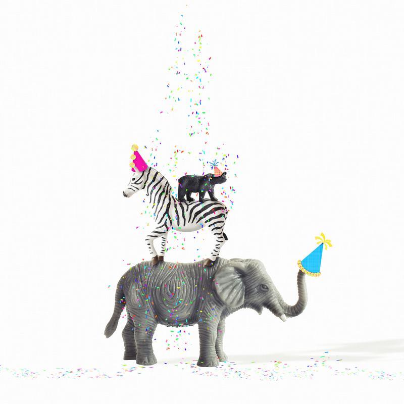 Party Animals alu dibond