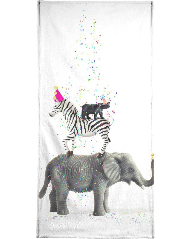 Party Animals Bath Towel