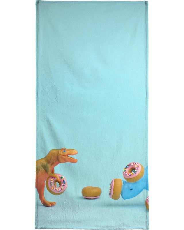 Ring Toss Bath Towel