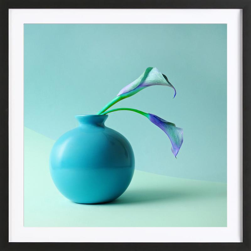 Feeling Blue ingelijste print
