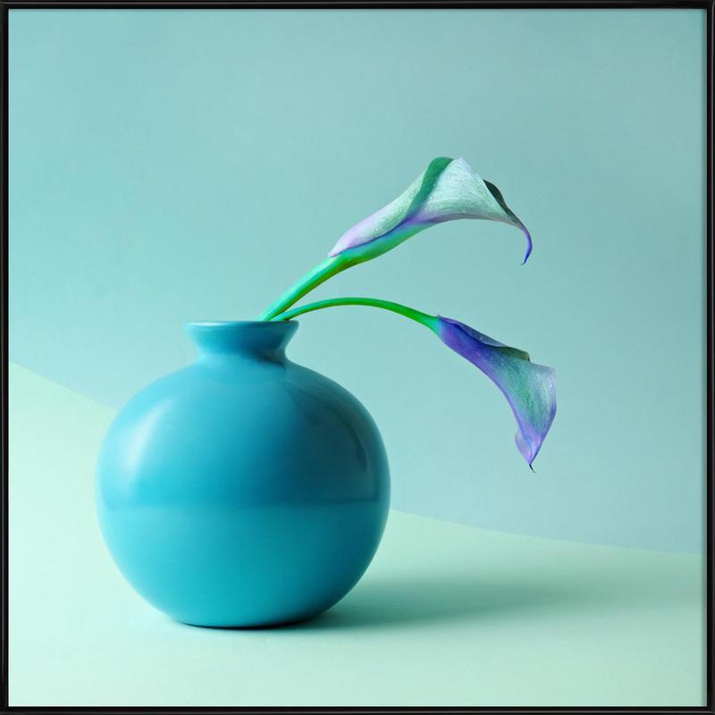 Feeling Blue ingelijste poster