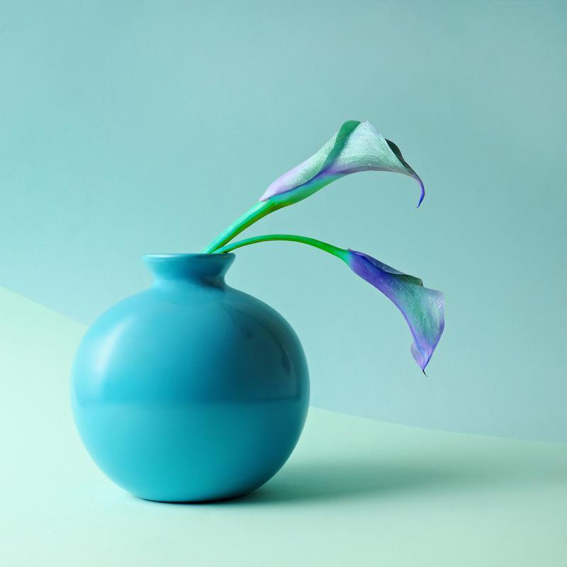 Feeling Blue -Acrylglasbild