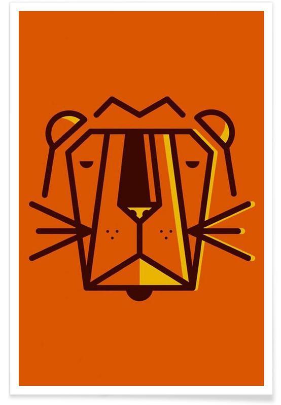 Nursery & Art for Kids, Animal 4 Poster