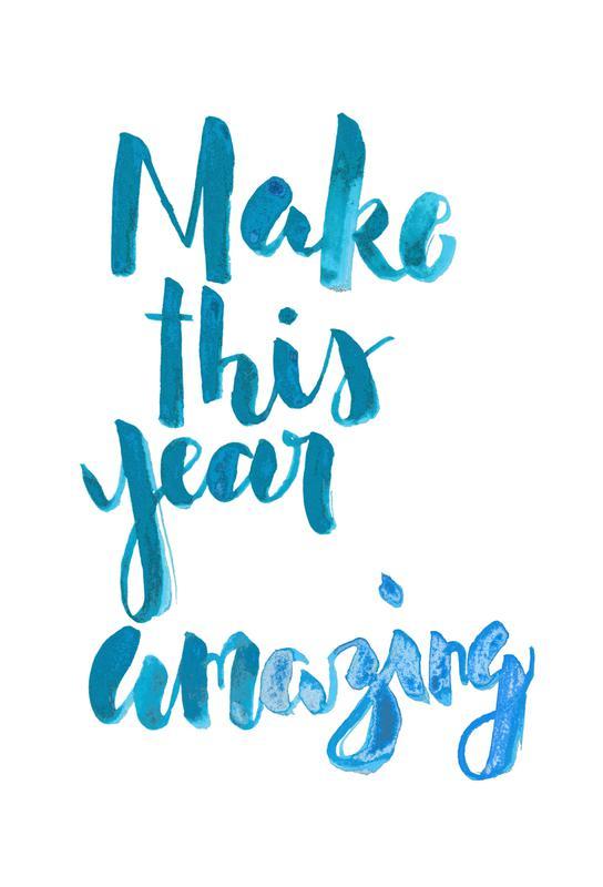 This Year -Acrylglasbild