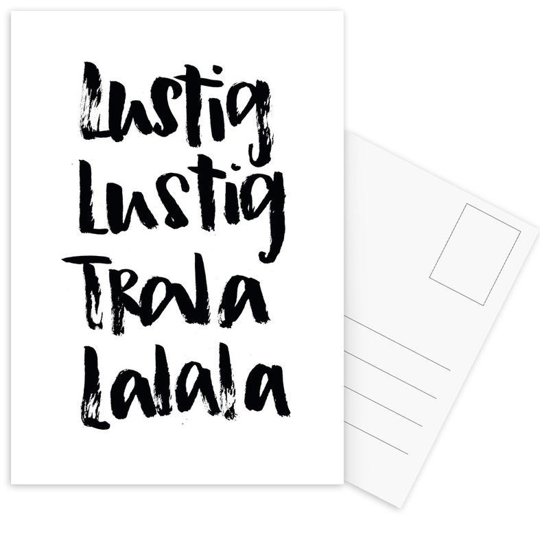 Tralalala Postcard Set