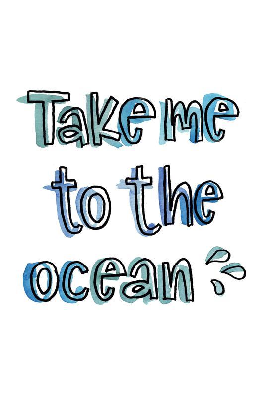 Ocean -Acrylglasbild