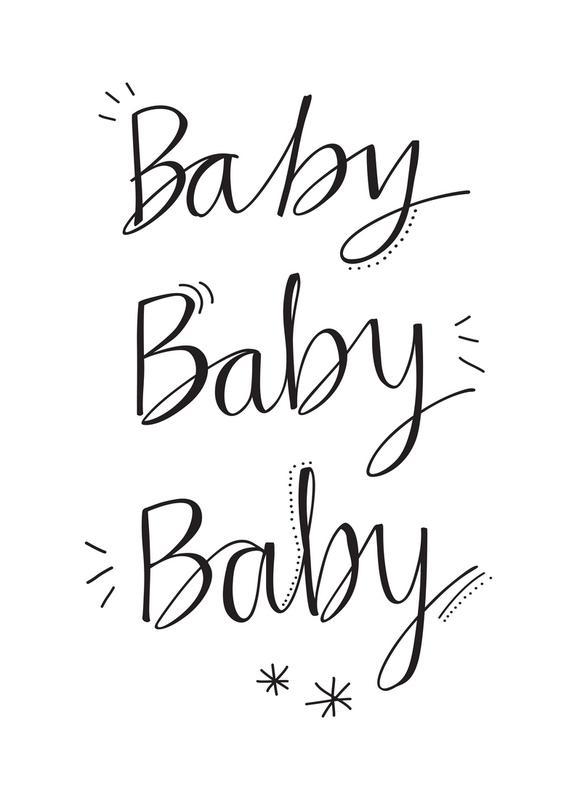 Baby Baby Canvas Print