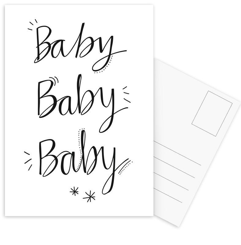 Baby Baby Postcard Set